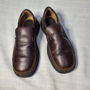 Bjorndal brown leather loafers sz. 7